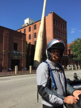 Kiwi and the Louisville Slugger